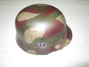 Repro elmetto tedesco M35 Waffen SS Ardenne