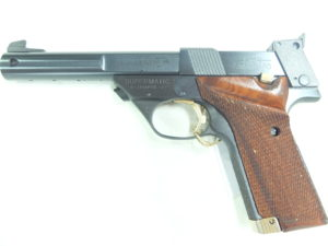 HIGH STANDARD SUPERMATIC TROPHY MILITARY