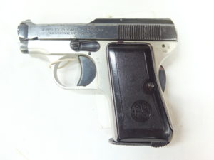 P.BERETTA MOD.418 FUSTO LEGA ANNO 1949 CAL.6,35