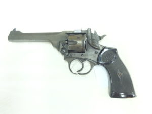 WEBLEY MOD.MARK IV WAR FINISH CAL.38S&W.