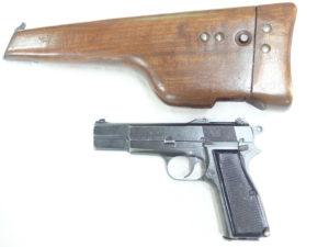 FN BROWNING MOD.HP35 INGLIS CANADA CAL.9X21IMI