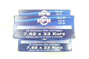 MUNIZIONI PER FUCILE MP44 7,92X33KURZ
