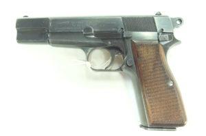 BROWNING MOD.HP35 CAL.7,65PB CON WAFFENAMT 140