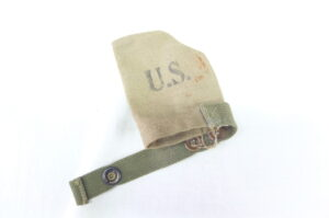 CANVAS MUZZLE COVER RIFLE OR CARBINE 1944