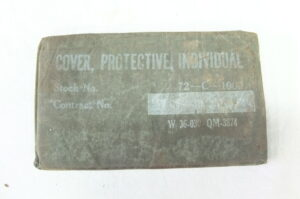 COVER PROTECTIVE INDIVIDUAL 1942