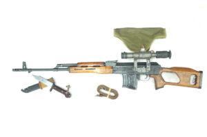DRAGUNOV FPK SNIPER RUMENO CAL.7,62X54R