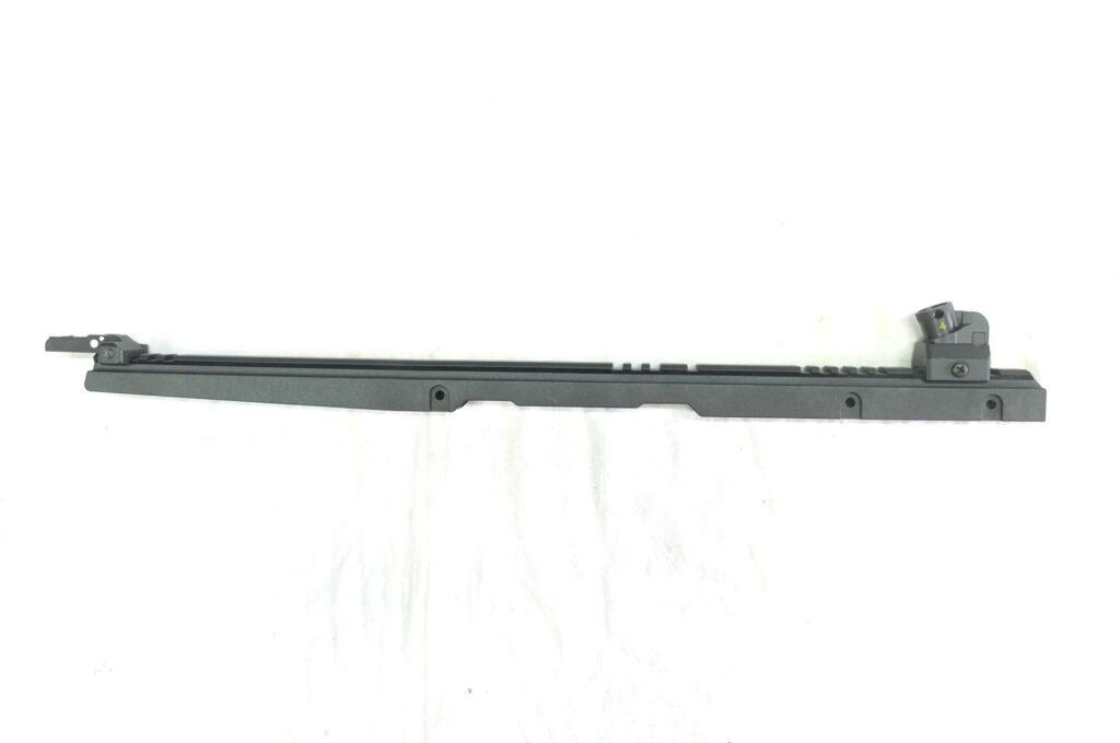 RAIL LUNGO MIRE METALLICHE PER G36/243/SL8