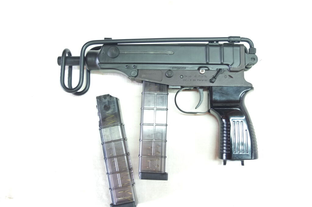 CZECH SMALL ARMS MOD.VZ61 CAL.9MAK
